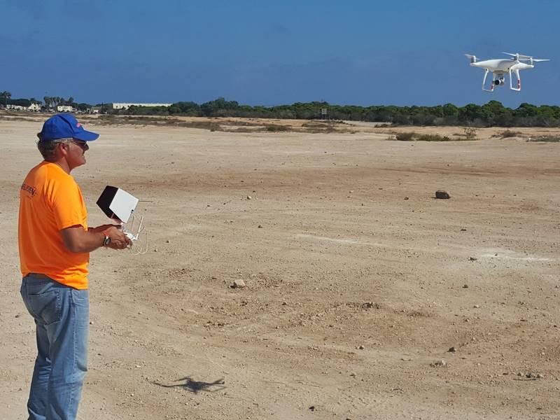 Melicien trabajos de topografía y batimetría en Melilla.