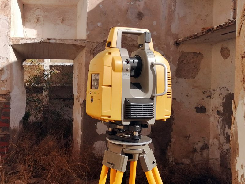 Levantamiento de planos con laser escaneado Melilla